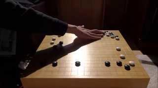 囲碁・棋譜並べ(碁石を打つ音)IGO