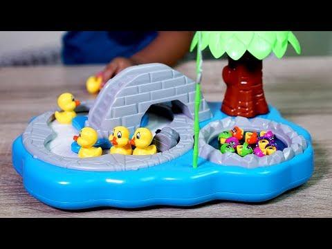 Mainan anak Pancing Bebek dan Ikan