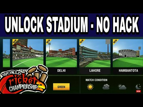 Wcc2 how to unlock stadium and overs without root mobile and hack game