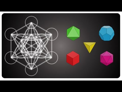 Metatron's cube and the platonic solids - sacred geometry (english version)