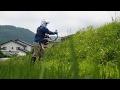 【米作り奮闘記】エンジン式刈払機の使い方 雑草刈りに挑戦 #5