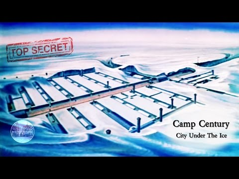Camp Century | Declassified US Navy Film | Secret Nuclear City  In The Arctic