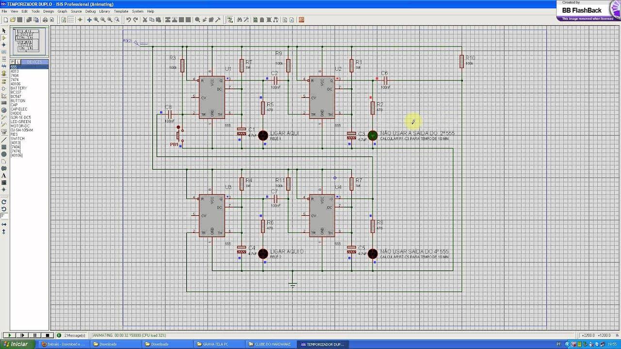 Temporizador Proteus Electromagnetic Pulse Generator Schematic Http Wwwsentexca