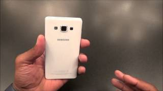 Samsung Galaxy A5 Unboxing and First Impressions