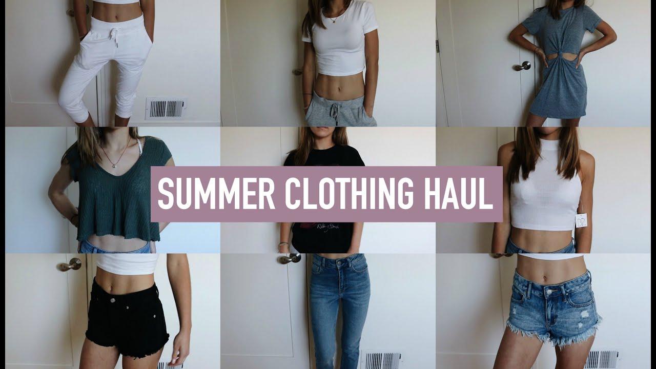HUGE SUMMER TRY-ON CLOTHING HAUL!! | Mel Joy