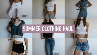 HUGE SUMMER TRY-ON CLOTHING HAUL!! | Mel Joy