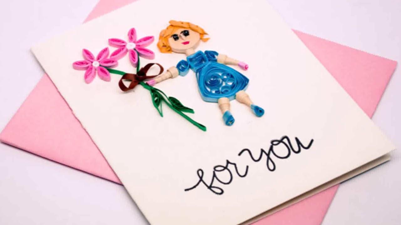 Классные открытки для мамы на день рождения своими руками, год открытка