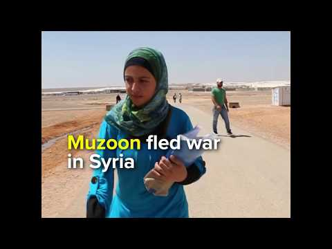 Education activist Muzoon urges world leaders to educate refugees