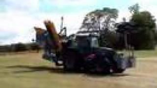 1 metre deep rotary wheel trencher