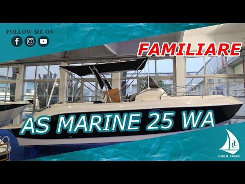 A bordo di AS Marine 25 WA