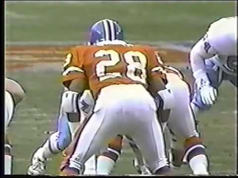 Houston Oilers vs Denver Broncos 1991 1st Half