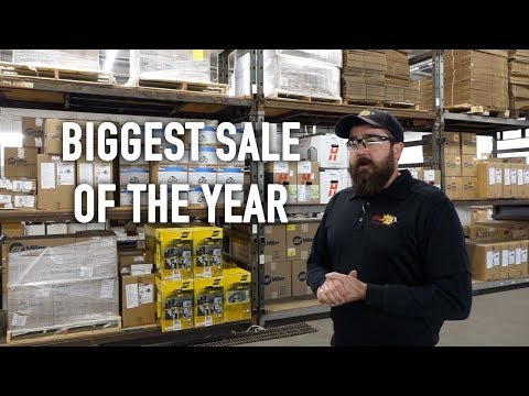 Biggest Welding Equipment Sale Of The Year