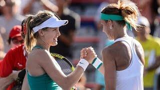 2016 Coupe Rogers Day 2 WTA Highlights