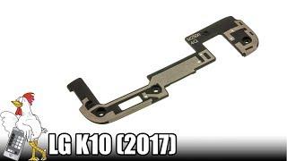 Guía del LG K10 (2017): Cambiar antena GSM