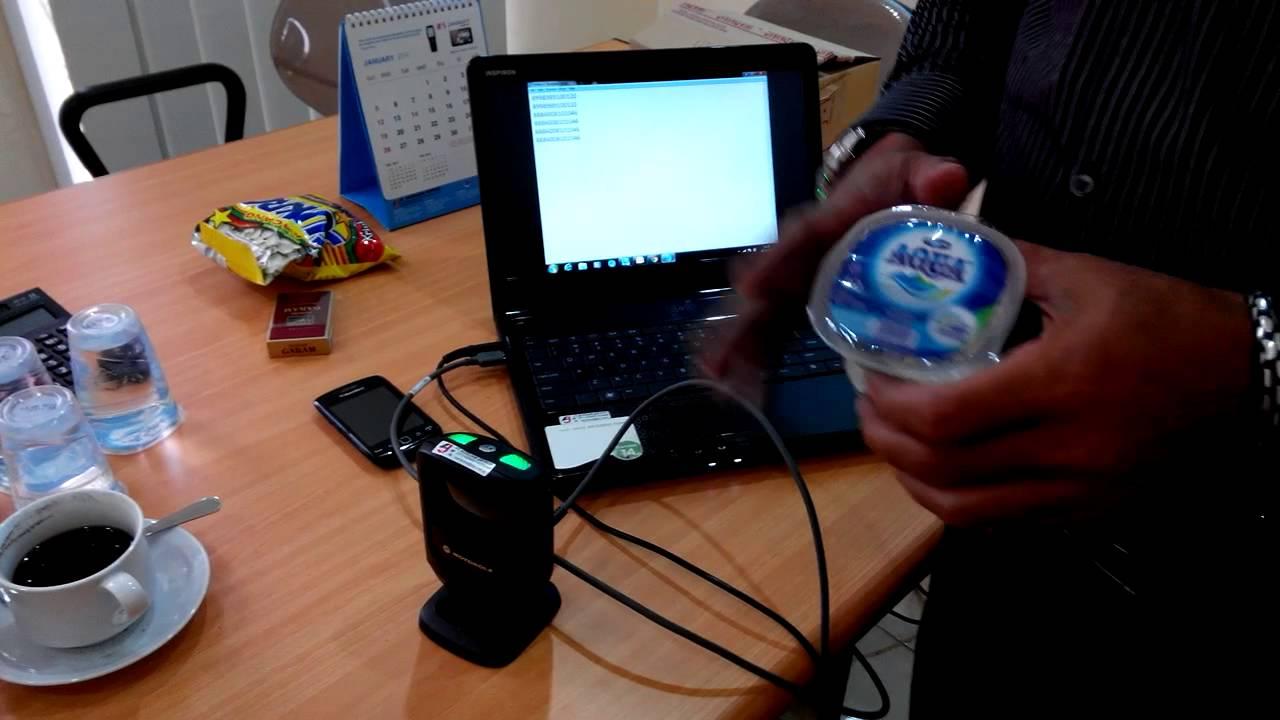 Demo Motorola Scanner Ds9208 Youtube