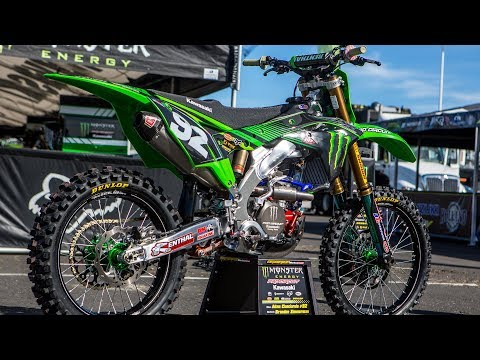 Inside Adam Cianciarulo's Factory Monster Energy Kawasaki KX250F - Motocross Action Magazine