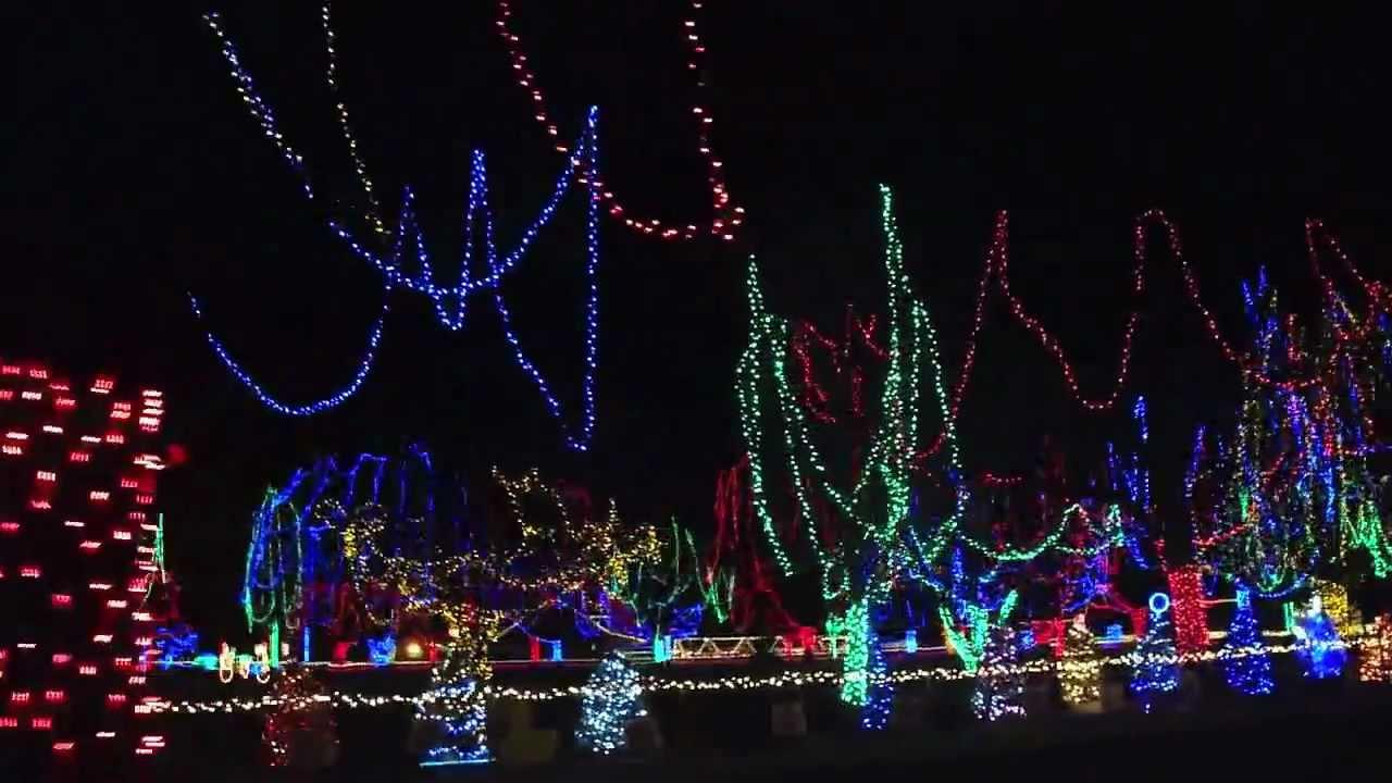 Christmas Lights Light Show