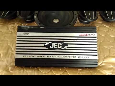 JEC amplifier CA-3252 3600watt