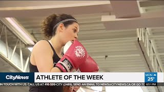 Boxing star Emelia Dermott is a three-time national champion and ho...