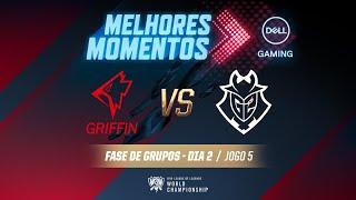 Mundial 2019: Fase de Grupos - Dia 2 | Melhores Momentos GRF x G2 (Jogo 5) (By Dell Gaming)