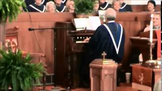 Pentecostal Power by Bruce Herring on an  antique pump organ