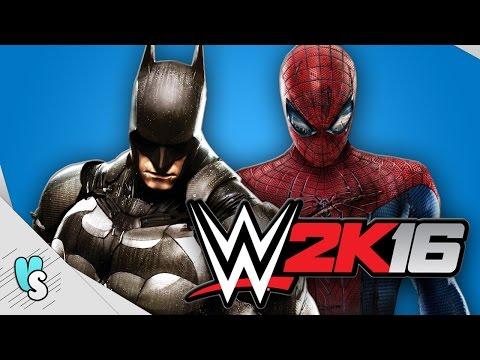 WWE 2K16 Indonesia - SPIDERMAN & BATMAN BERSATU (Momen Kocak Smackdown)