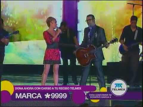 Ana Torroja Aleks Syntek Duele el amor TLTON Mexico 2010 (playback)