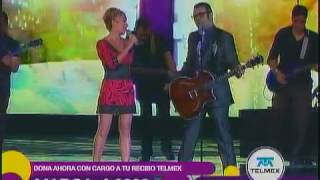 Ana Torroja Aleks Syntek Duele el amor TLTON Mexico 2010