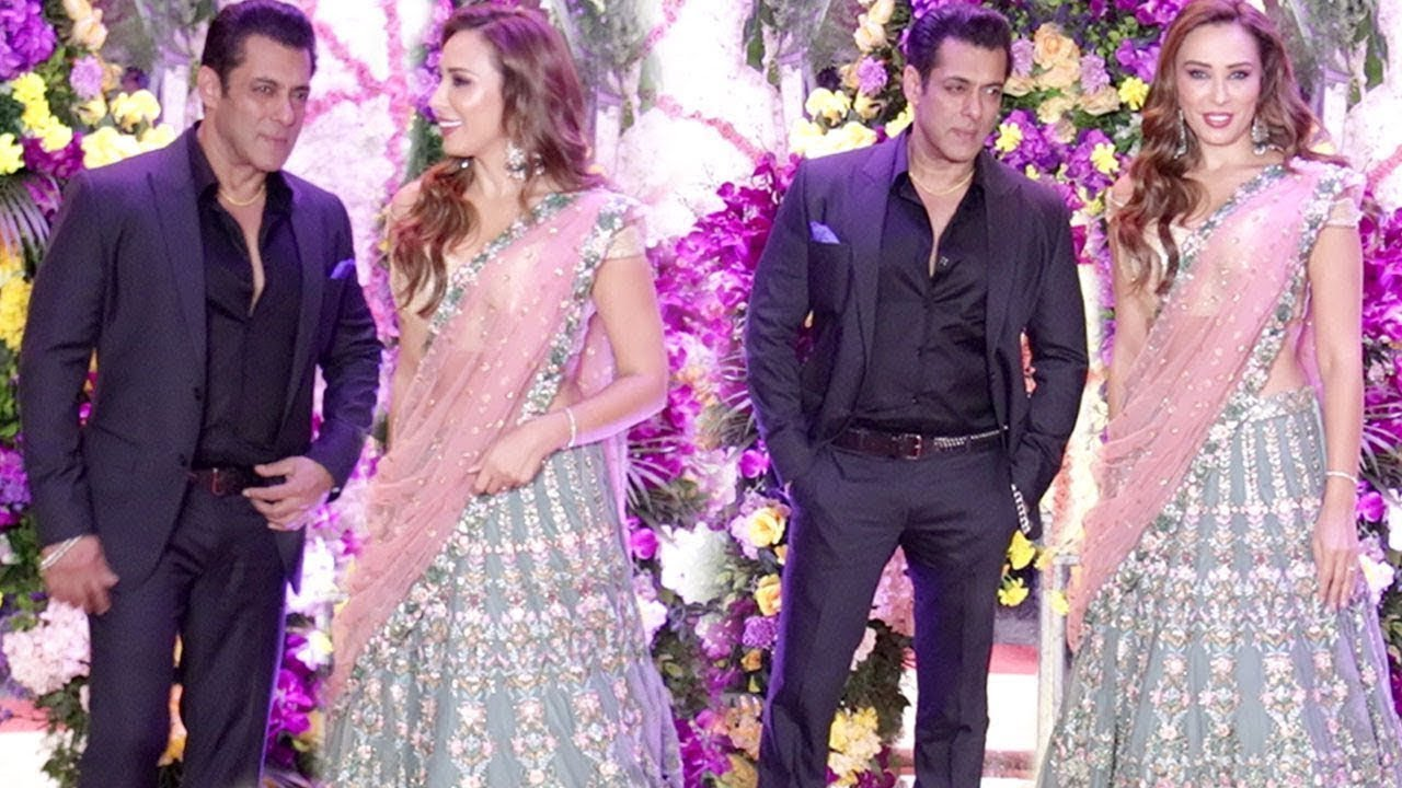 Salman Khan Cute Moments With GF Iulia Vantur @ Sooraj Barjatya ...