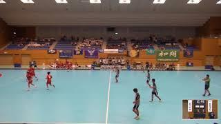 2019年IH ハンドボール 男子 2回戦 香川中央(香川)VS 佐賀清和(佐賀)