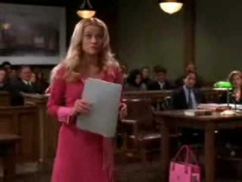 Legally Blonde - Case Scene