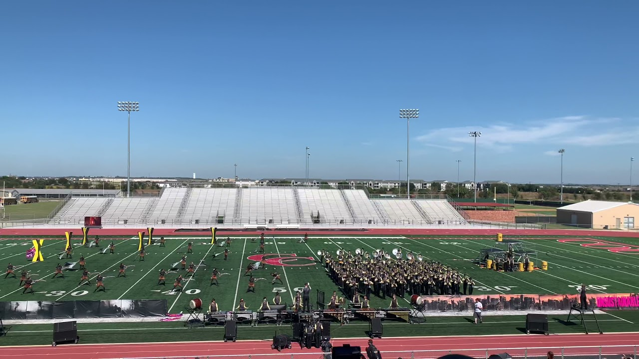 Smithson Valley High School Marching Band- Comal Classic 2021- Unsustainable