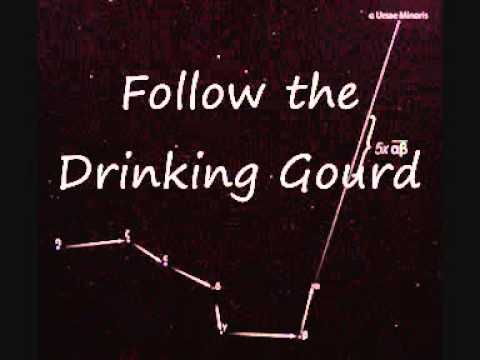 Follow The Drinking Gourd (American traditional) Lyric video