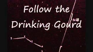 Follow The Drinking Gourd (American traditional) by Lew Bear (Lyric video)