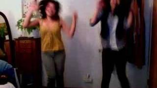 doing the hatarakiman dance.