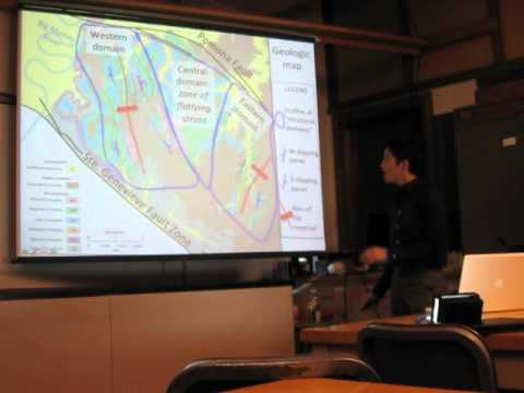 Structural Geology Master's Thesis Colloquium (1/2)