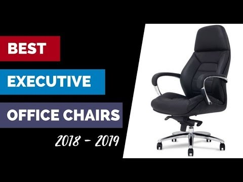 The Best Executive Office Chairs fit for a CEO in 2018 unveiled!