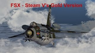 FSX Steam Vs FSX Gold