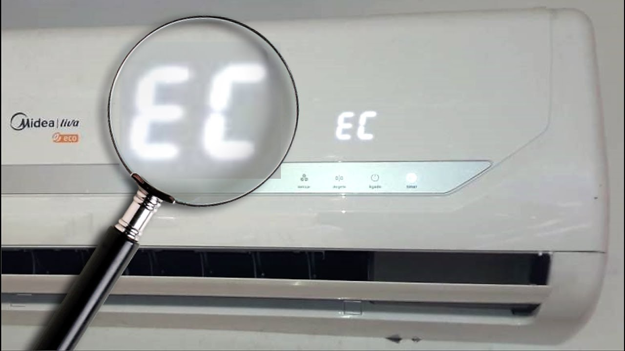 EC Error Code - air conditioner split