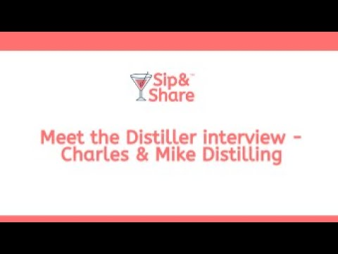 Meet the Distiller with Sip & Share