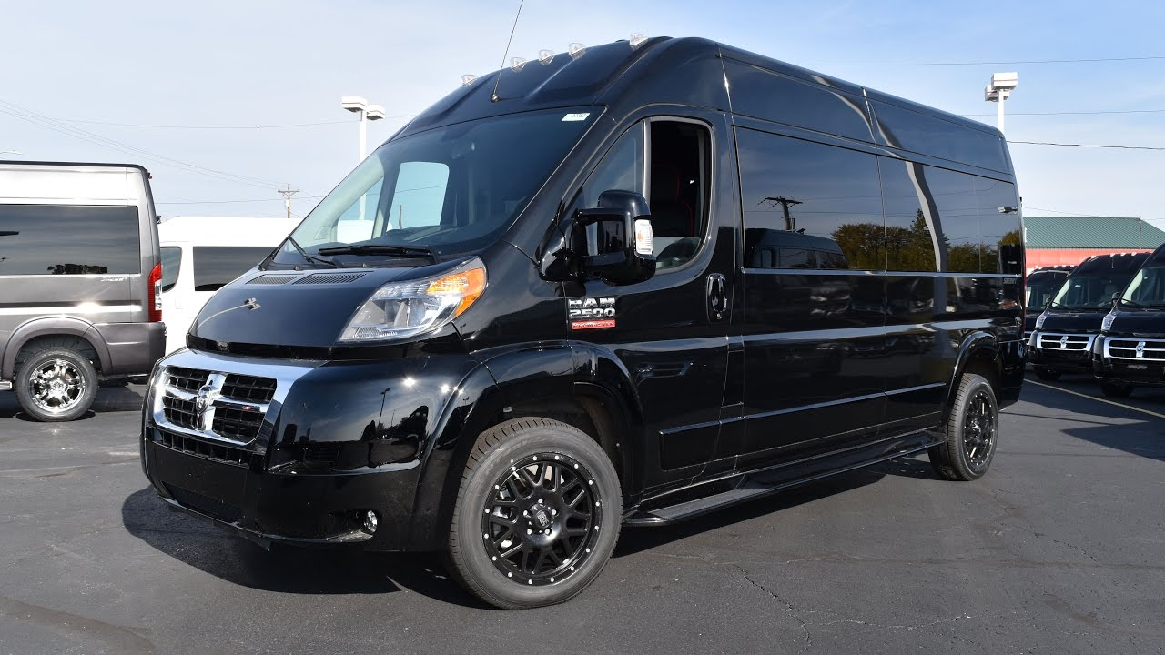 2017 Ram Promaster 9 Penger High Top Conversion Van By Sherry Vans Walkthrough 27752t
