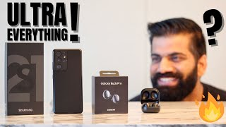Samsung S21 Ultra Unboxing \u0026 First Look - Truly ULTRA🔥🔥🔥