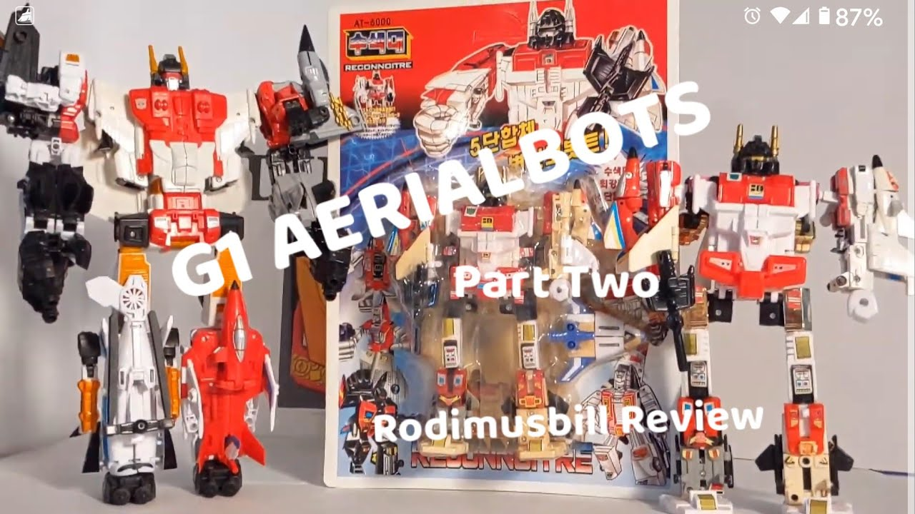 Transformers G1 AERIALBOTS Review (Part Two) By Rodimusbill