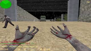 Counter strike zombie escape mod - map: ze_jurassicpark_v2