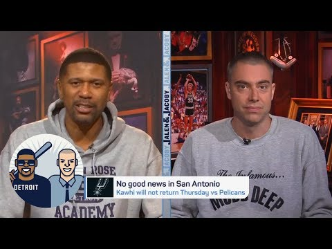 Jalen Rose: Kawhi Leonard clearly didn't trust Spurs' diagnosis of injury | Jalen & Jacoby | ESPN