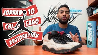 1995 OG Chicago 10's Restoration with Vick Almighty