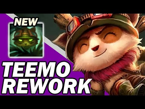 *NEW OP TEEMO REWORK* PBE Teemo Gameplay / First Impressions