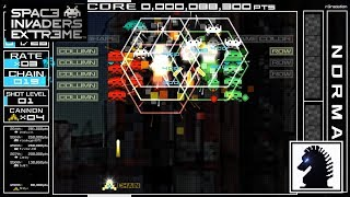PC Space Invaders Extreme - Arcade Mode - Stage 4-A