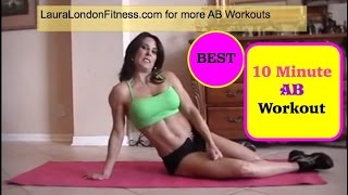 Fitness - 10 Minute AB workout ♥