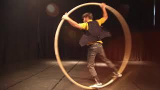 馬戲之門 - 雙人大環 Duo cyr wheel